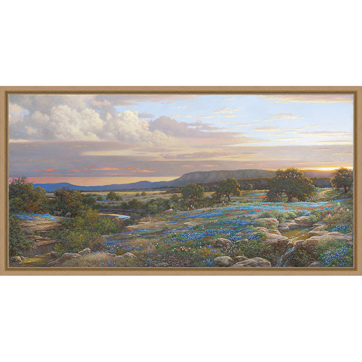 Love of the Landscape Framed Canvas