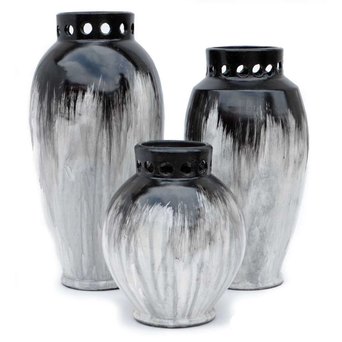 Luna Vases - Set of 3
