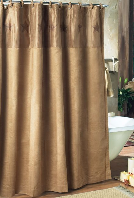 Luxury Star Shower Curtain