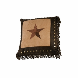 Luxury Star Studded Accent Pillow