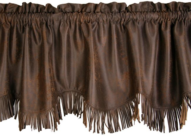 Luxury Valance with Fringe