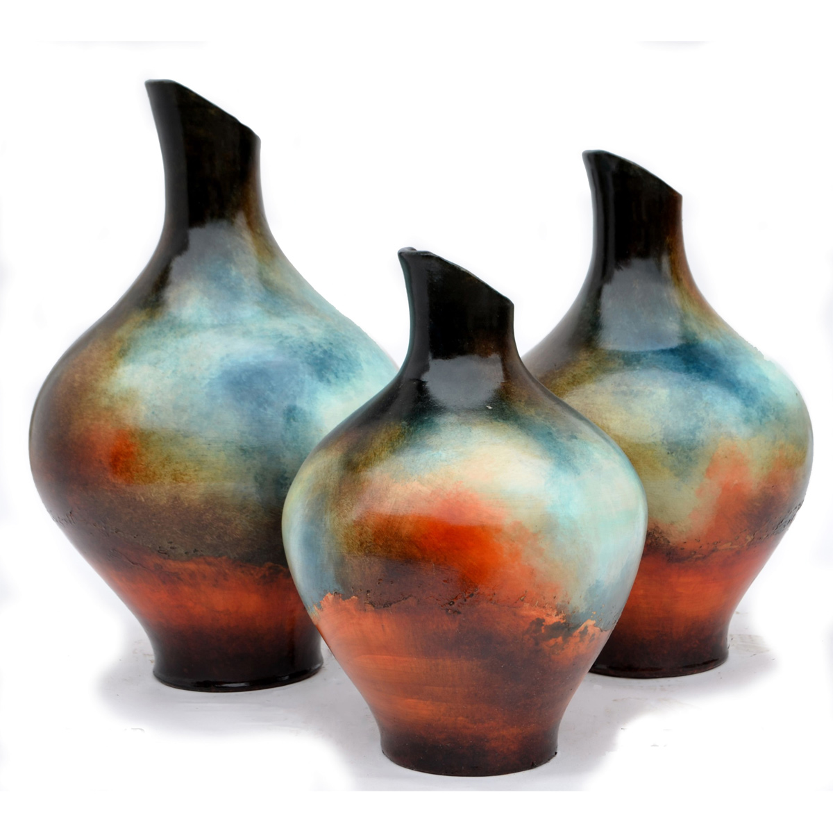 Madera Vases - Set of 3