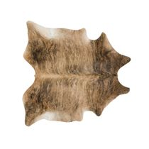 Medium Brindle Cowhide Rug - Extra Large
