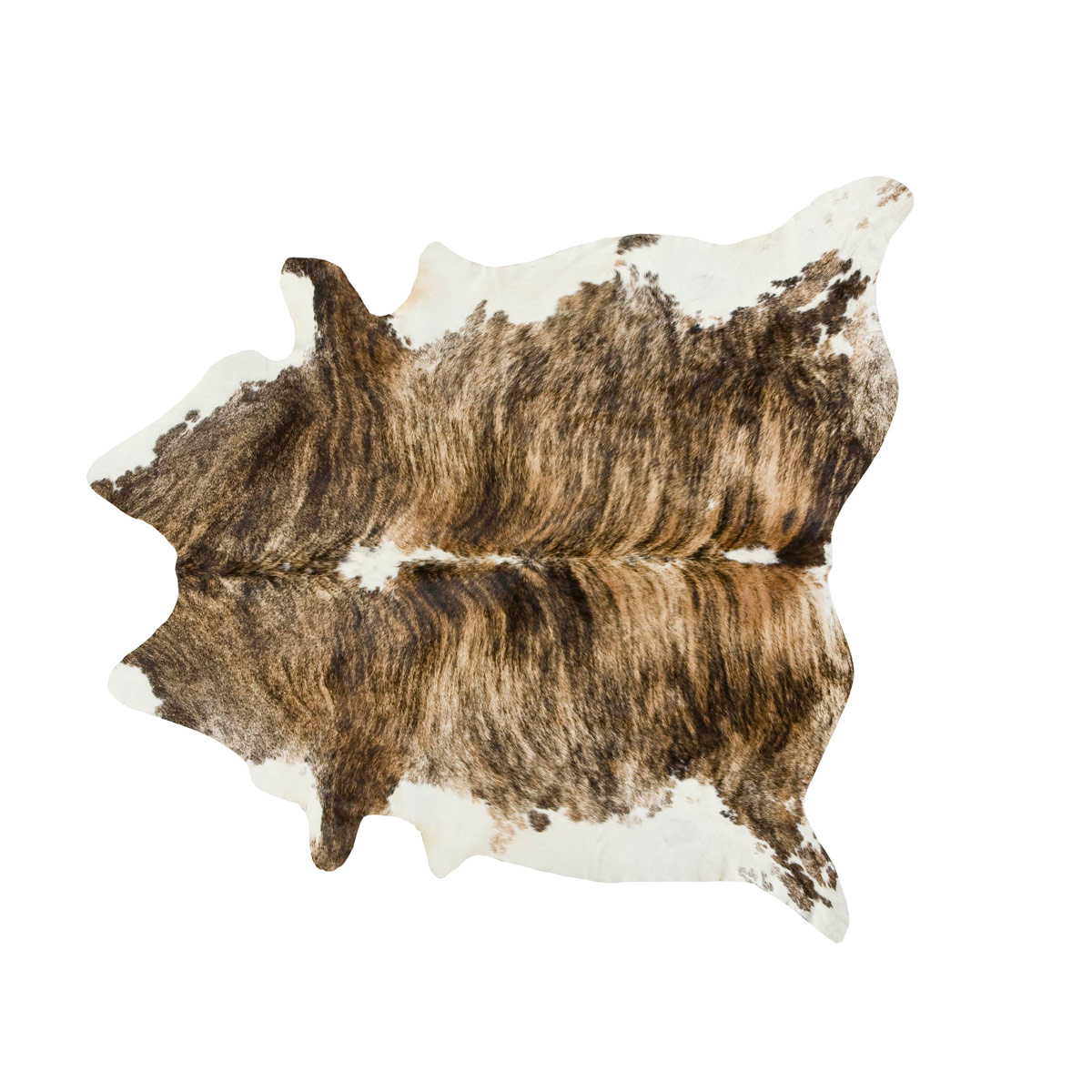Medium Tri Color Special Cowhide Rug - Extra Large