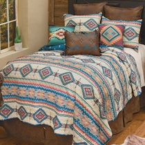 Mesa Canyon Quilt Set - Queen