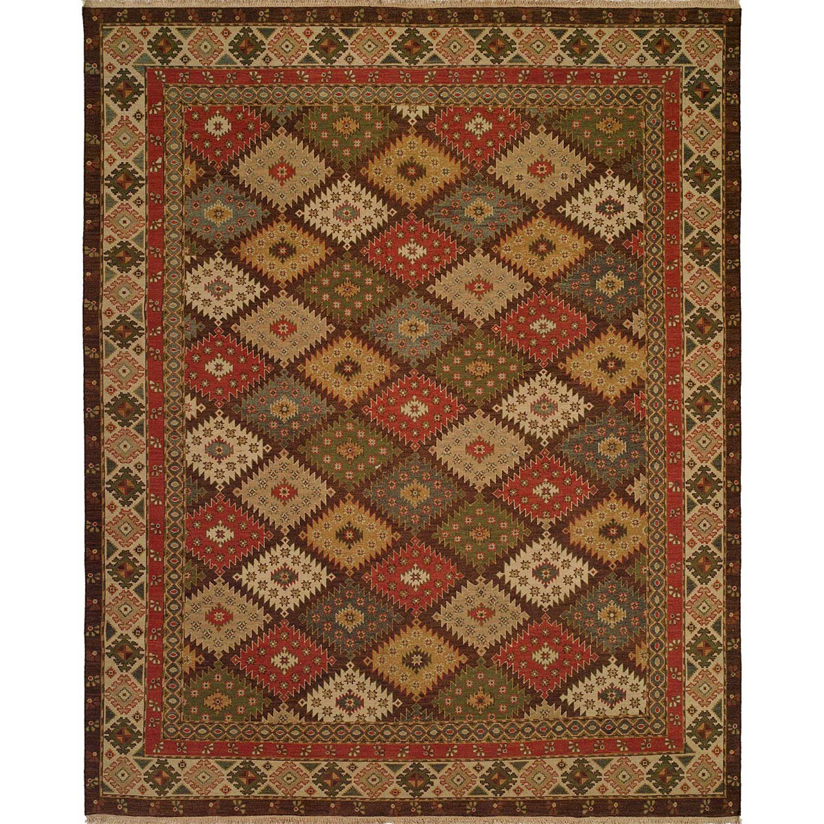 Mesa Diamonds Rug - 4 x 8