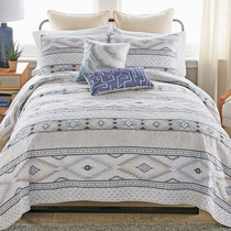 Mesa Frost Quilt Set - King