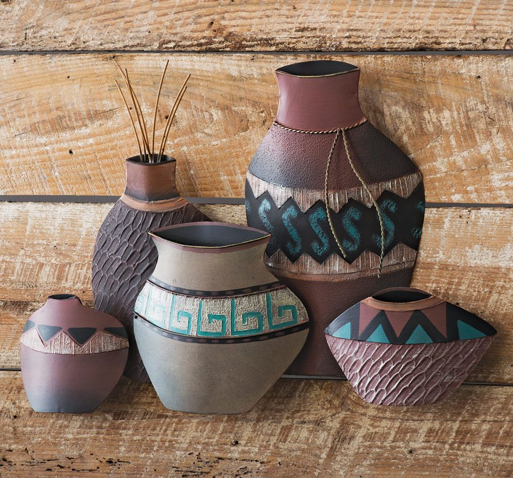 Mesa Pottery Metal Wall Art - OUT OF STOCK UNTIL 1/15/2021
