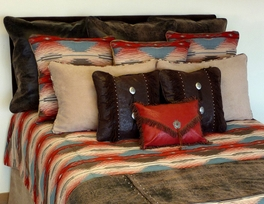 Mesa Sunset Pillows and Shams