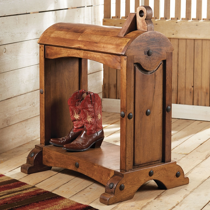 Mesquite Saddle Stand