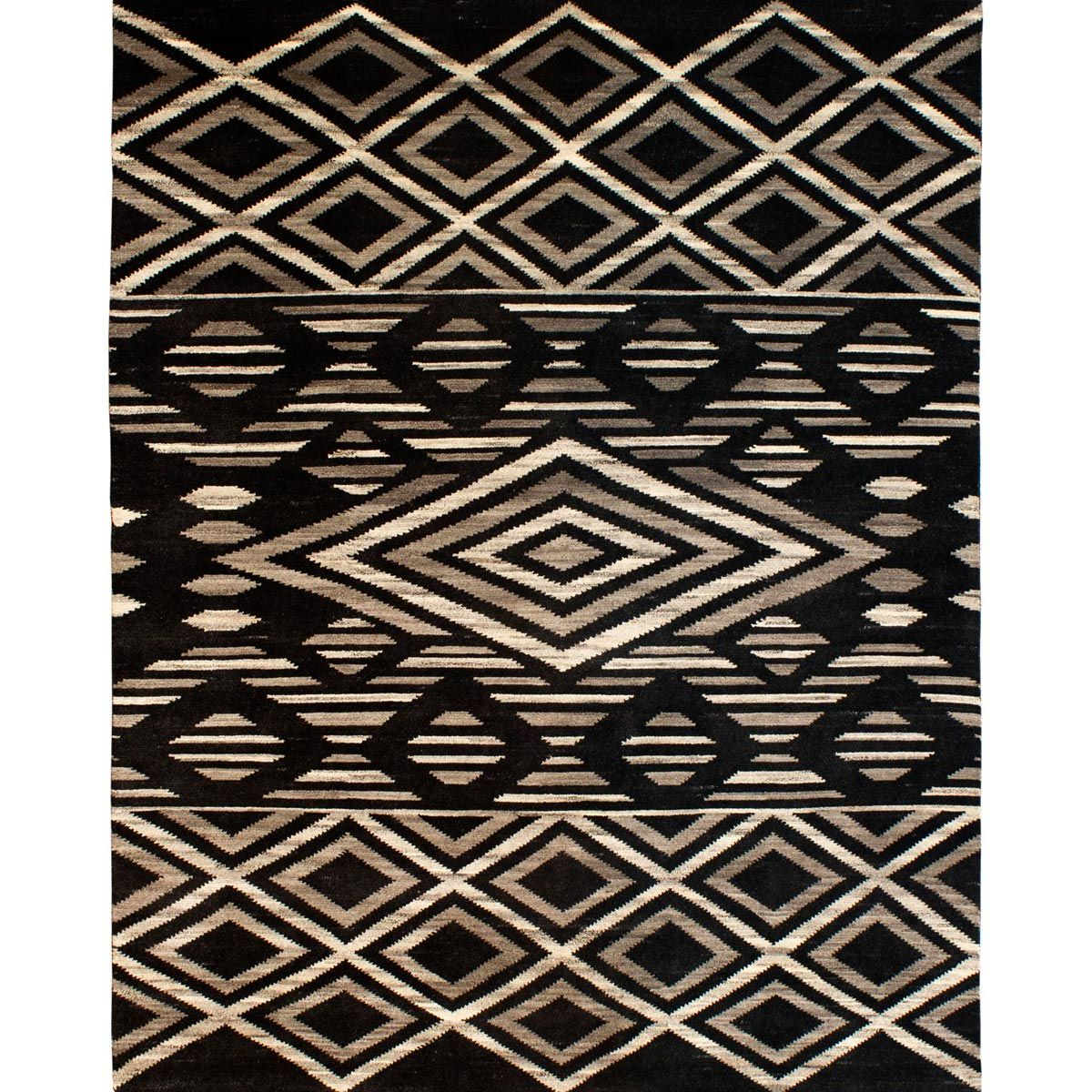 Midnight Diamonds Rug - 2 x 3