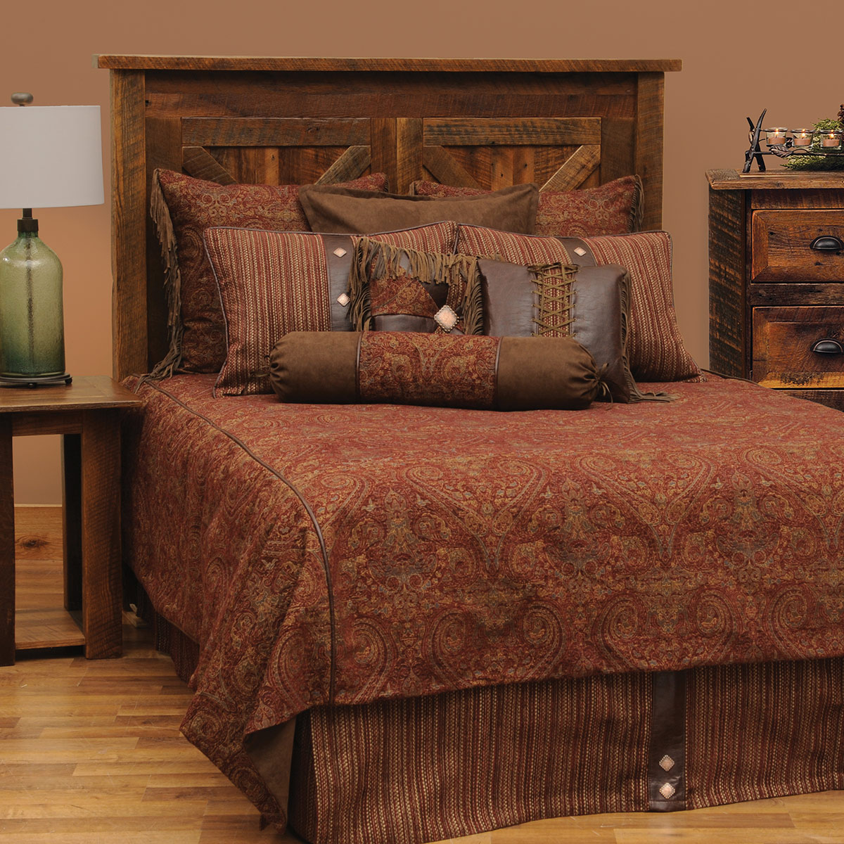 Milady II Basic Bed Set - Queen