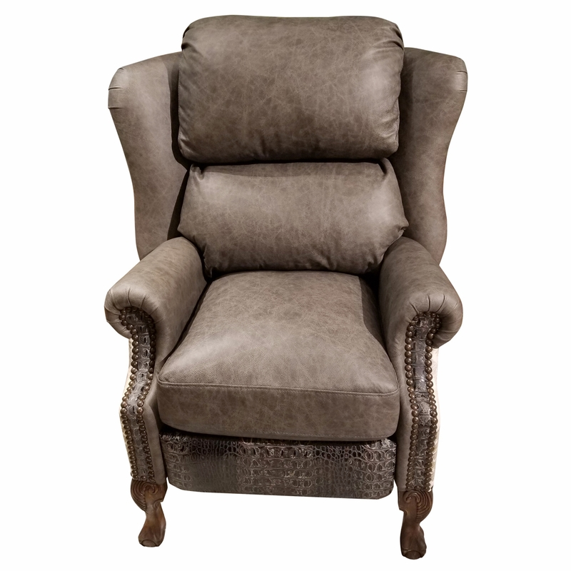 Modern Ranch Wingback Recliner