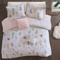 Mojave Blooms Cotton Printed Duvet Cover Set - Twin/Twin XL