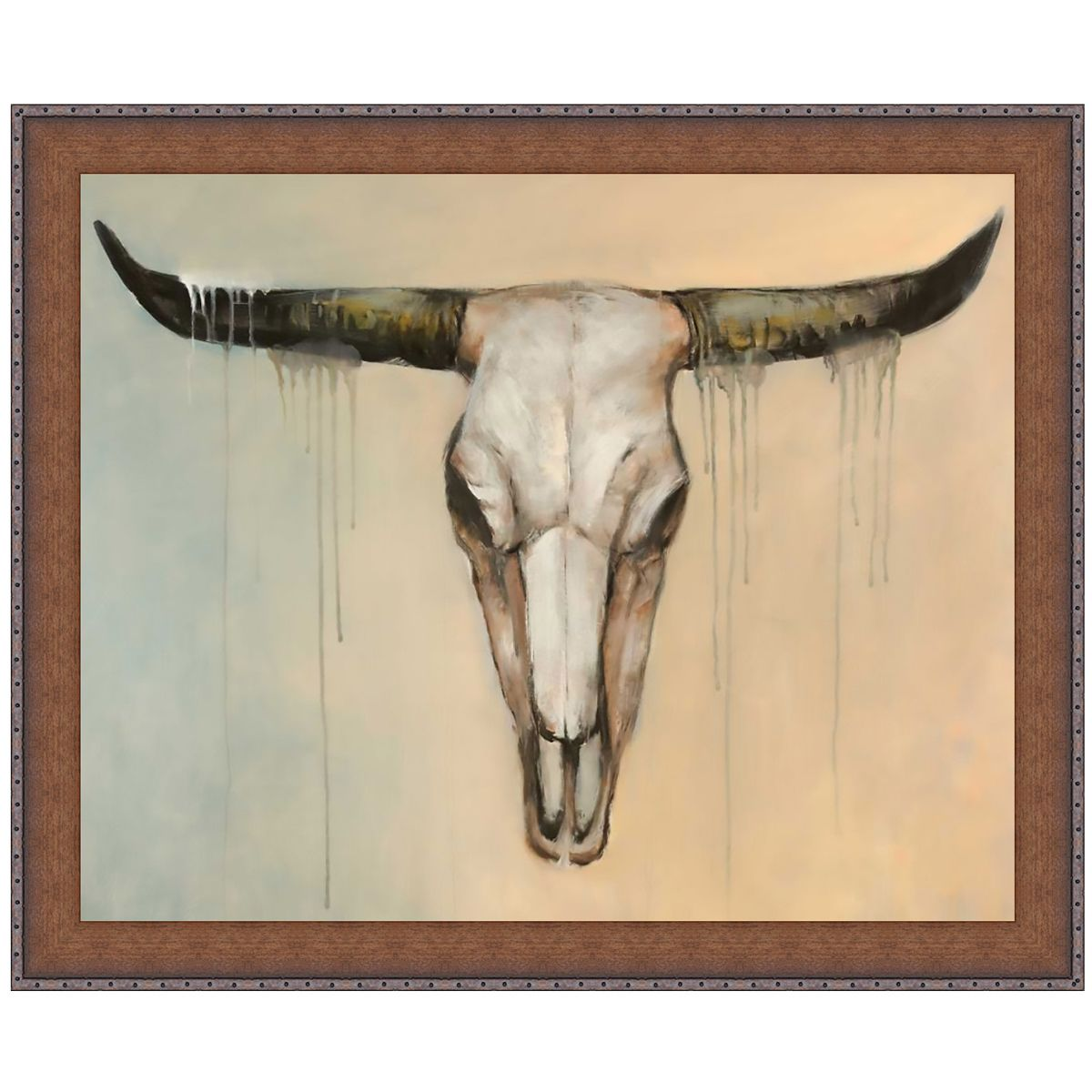 Mojave Skull Canvas Art