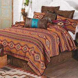 Mojave Sun Woven Blanket - King - CLEARANCE