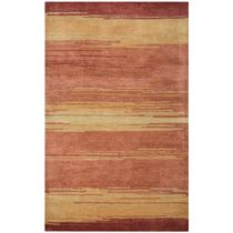Mojave Sunset Stripes Rug - 8 x 10