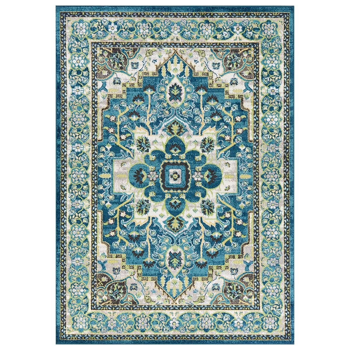Mojave Teal Accent Rug