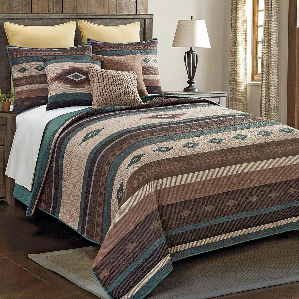 Mojave Valley Quilt Set - King