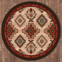 Mojave Valley Rug - 8 Ft. Round