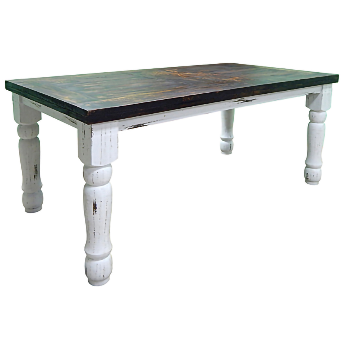 Montague 6 Ft Dining Table - White