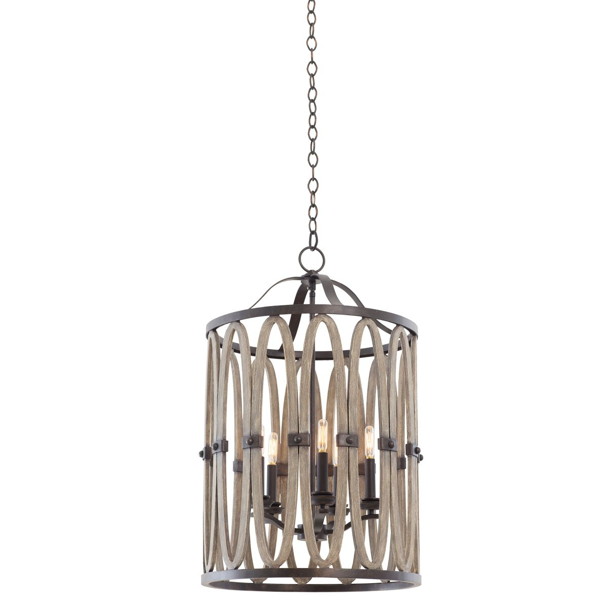 Morgan 5 Light Foyer Pendant