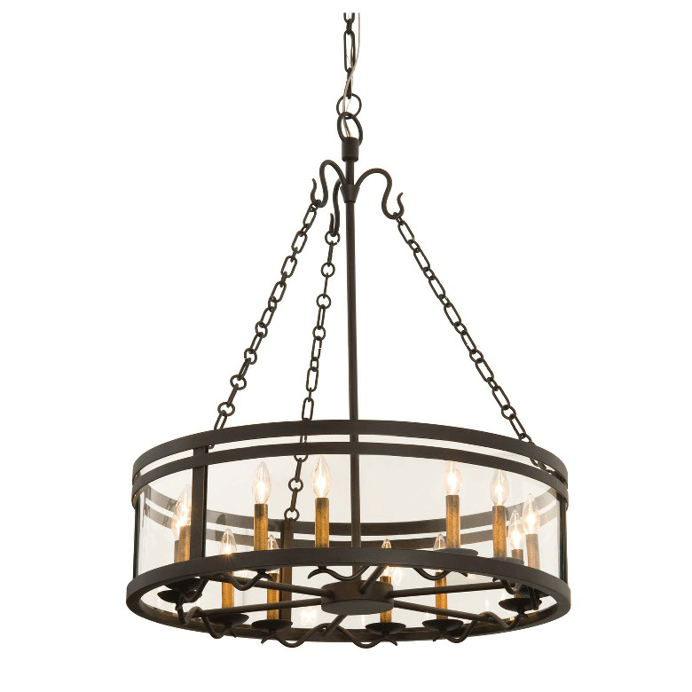 Morris 12 Light Chandelier