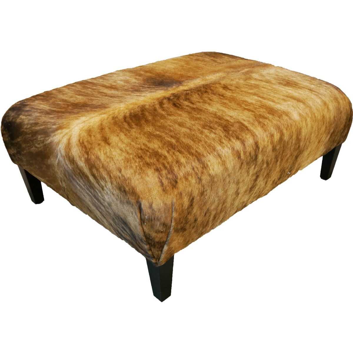 Mountain Modern Light Brindle Ottoman