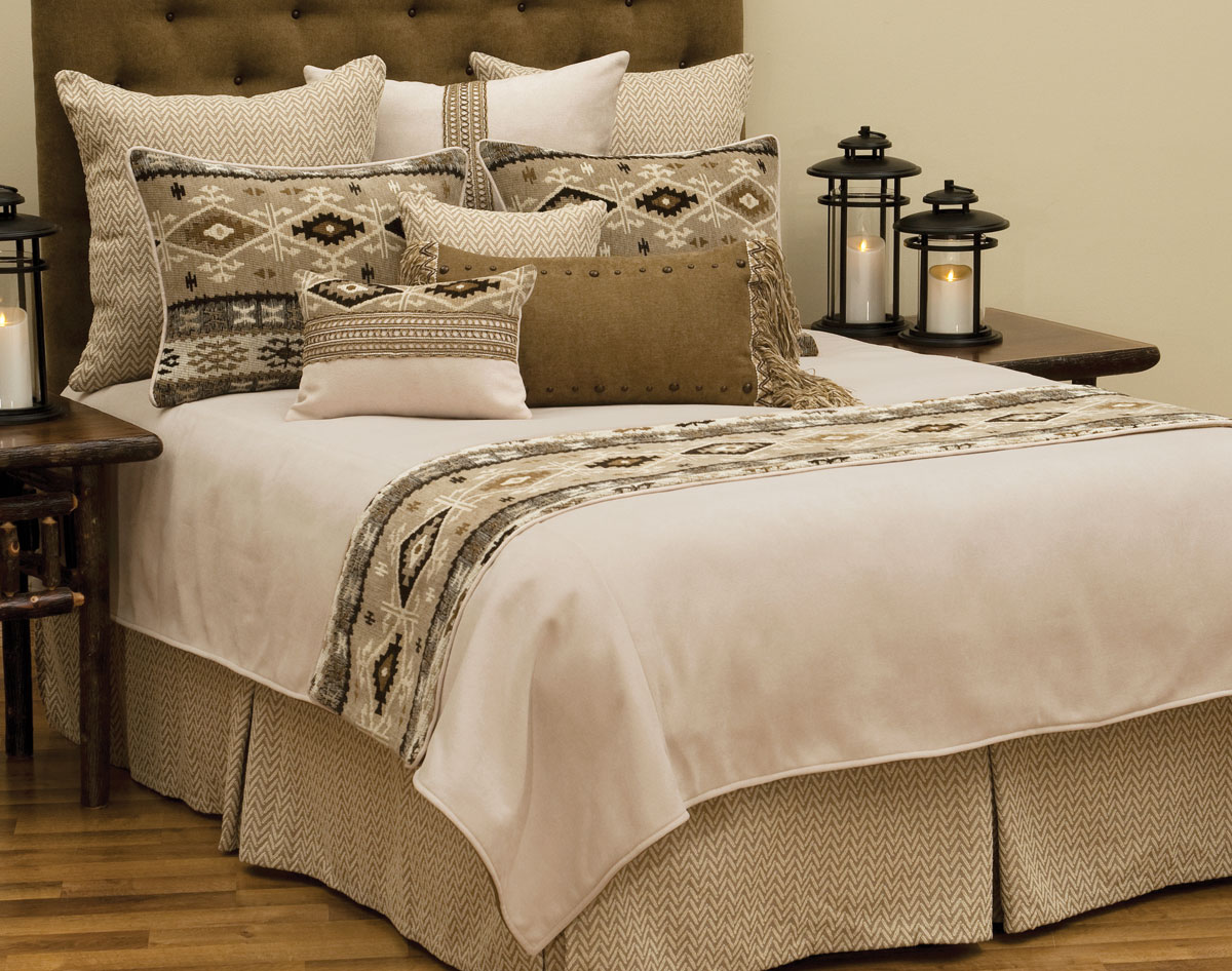 Mountain Storm Basic Bed Set - Queen