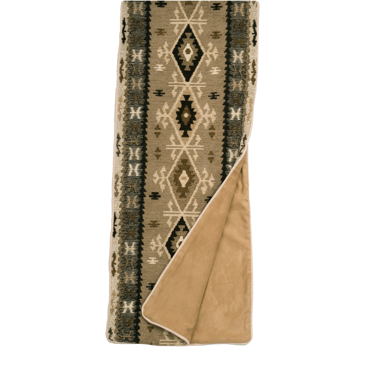Mountain Storm Bed Scarf - King