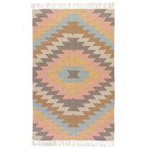 Multi Sawtooth Burst Indoor/Outdoor Rug - 4 x 6