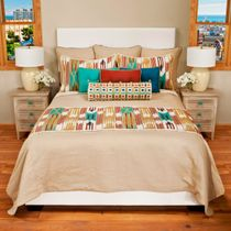 Mundo Lined Coverlet - King Plus