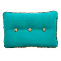 Mundo Turquoise Accent Pillow
