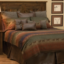 Mustang Canyon II Deluxe Bed Set - Full
