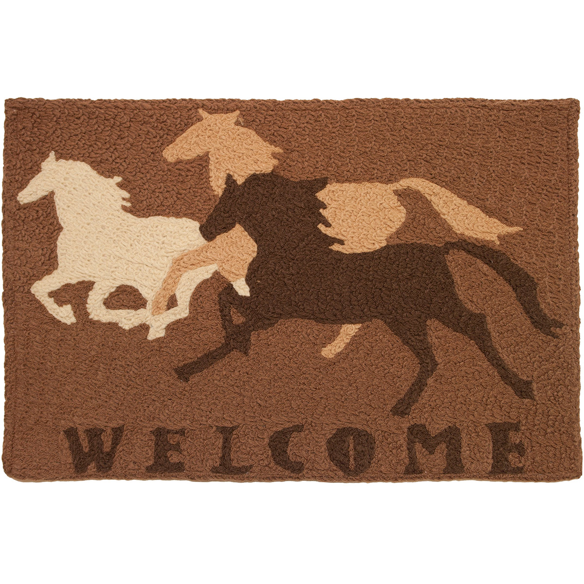 Mustang Welcome Indoor/Outdoor Rug
