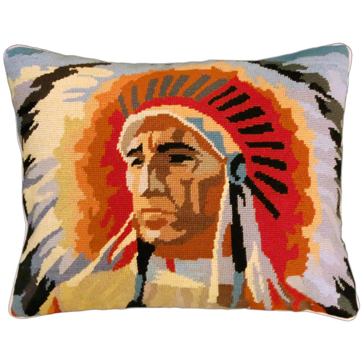 Native Chief Pillow