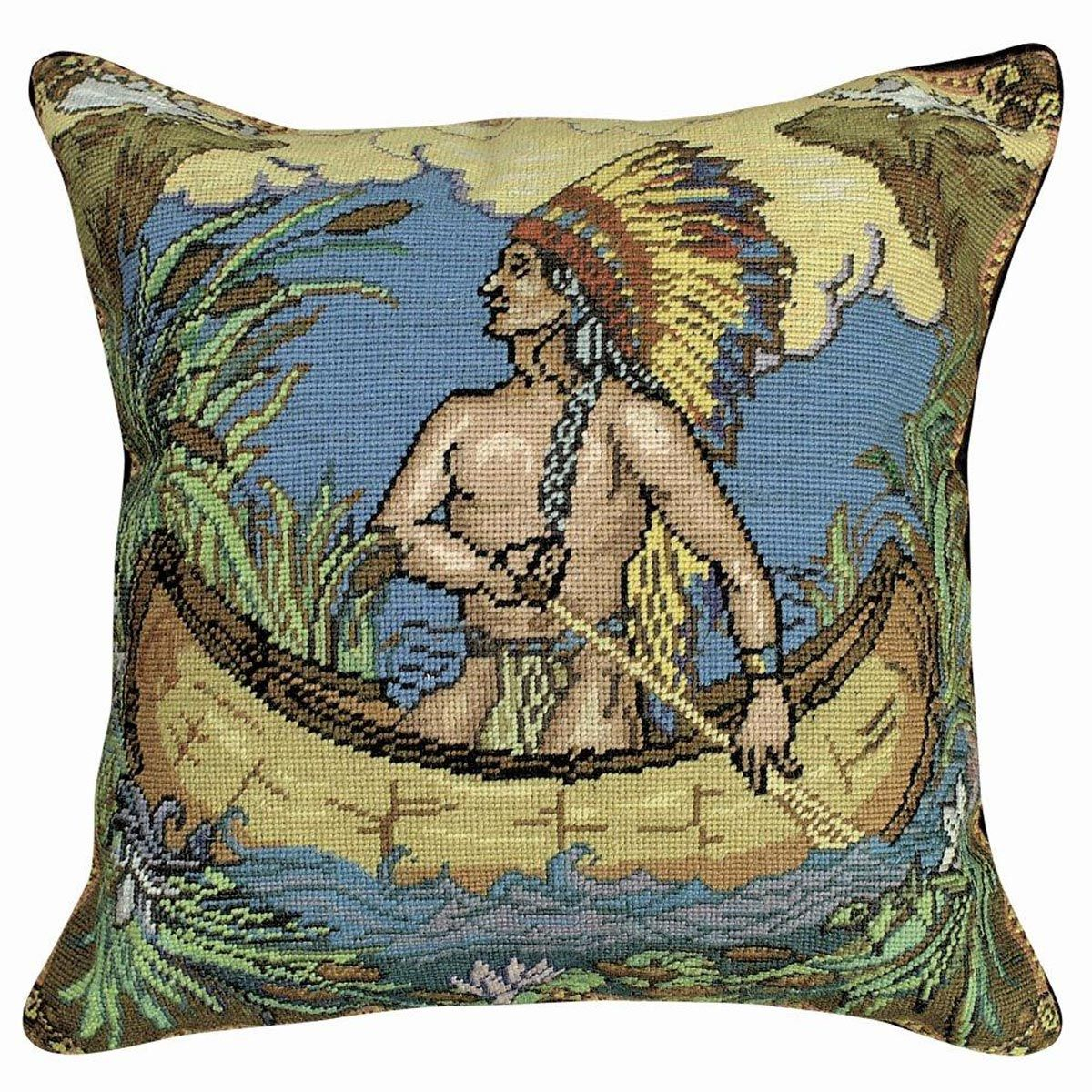 Native Crossing Pillow