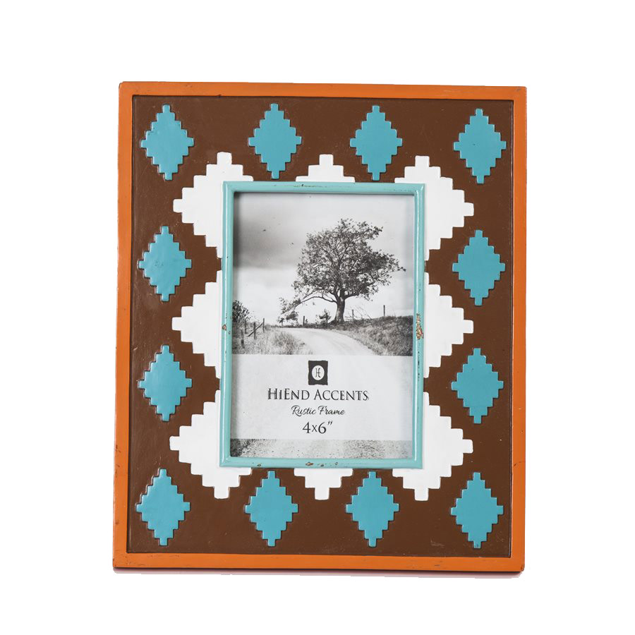 Native Diamond 4 x 6 Photo Frame