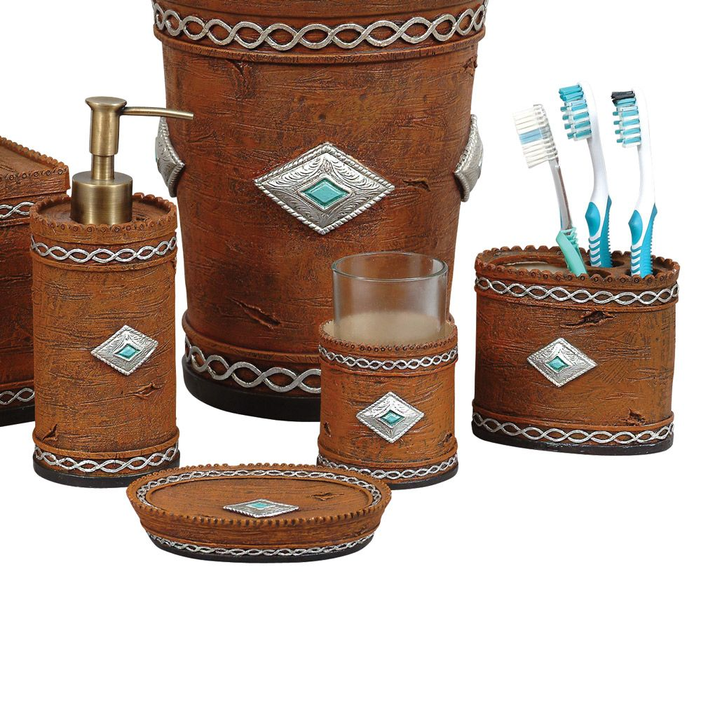 Navajo Bath Set - 4 pcs