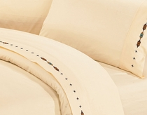 Navajo Cream Sheet Set - Full