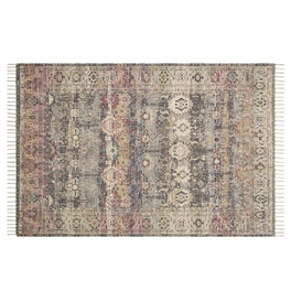Nelly Ivory & Burgundy Rug Collection