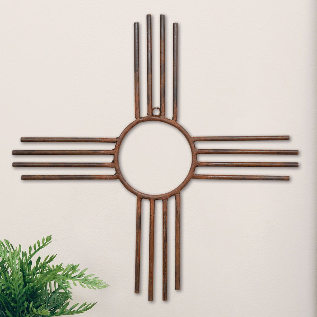 New Mexico Zia Sun Wall Hanging - Large