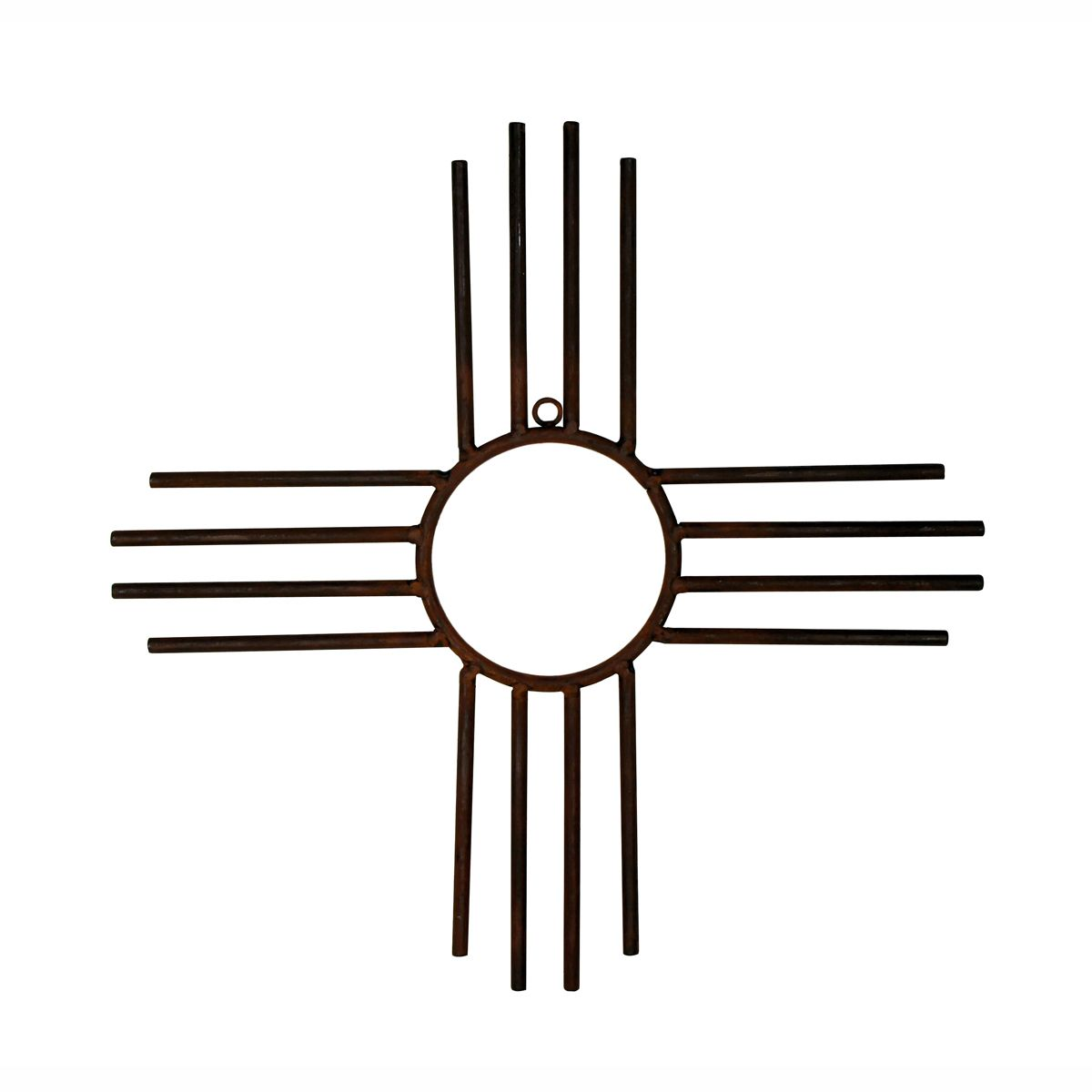 New Mexico Zia Sun Wall Hanging - Small