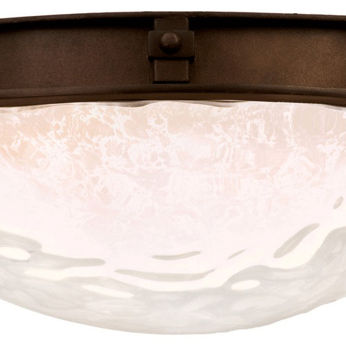 Newport 2 Light Energy Saving Flush Mount Fixture
