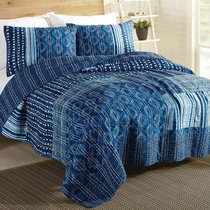 Night Sky Quilt Set - King