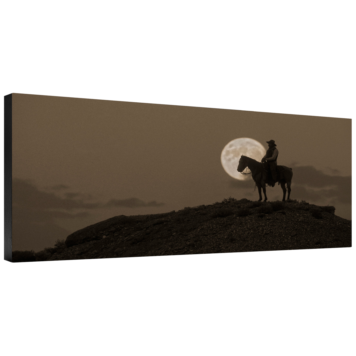 Night Watch Gallery Wrapped Canvas