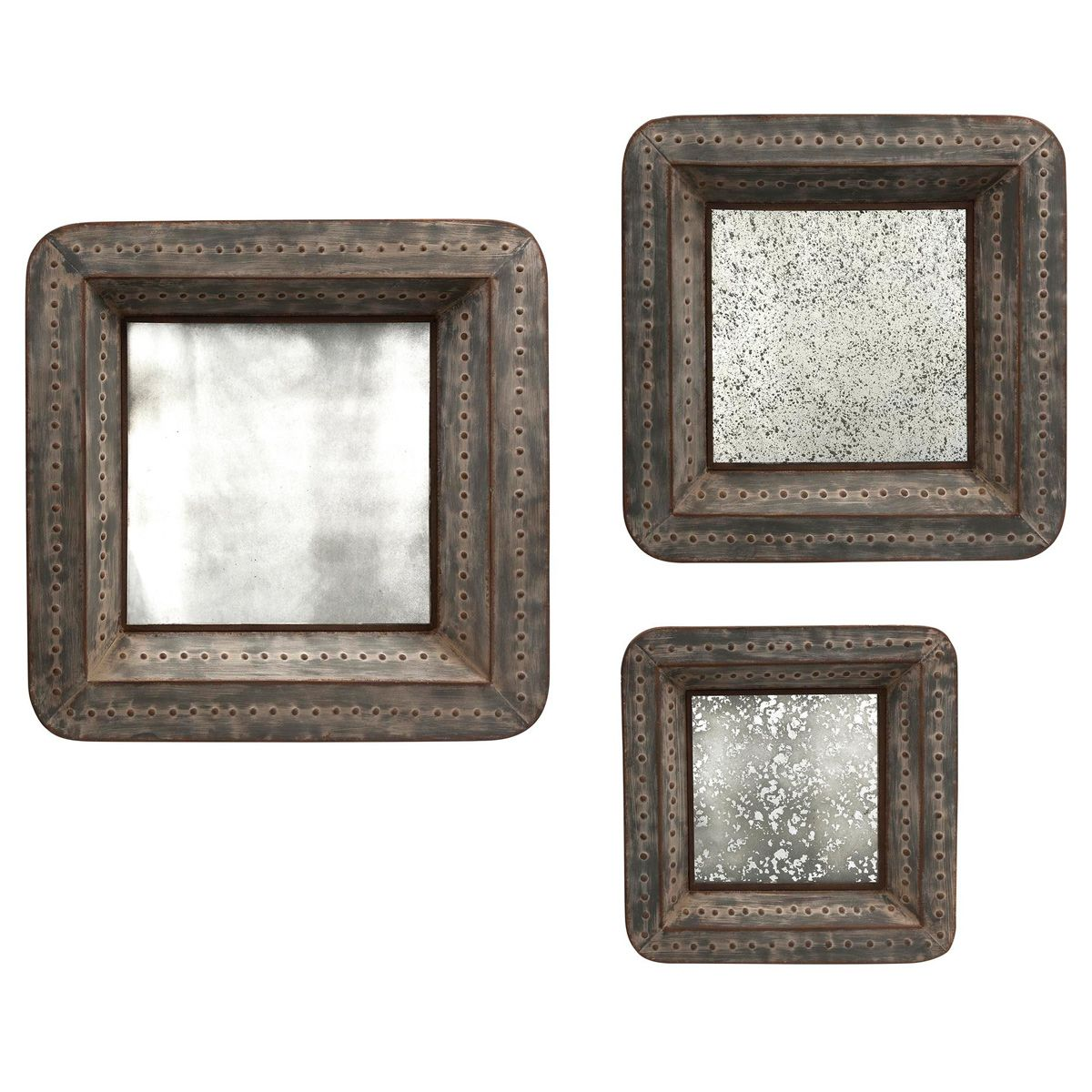 Norfolk Mirrored Wall Décor - Set of 3