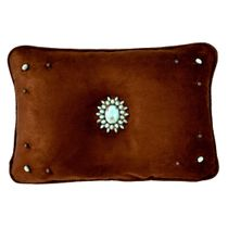 Oasis Chocolate Accent Pillow - 20 x 26