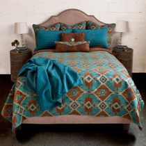Oasis Reversible Coverlet - Queen
