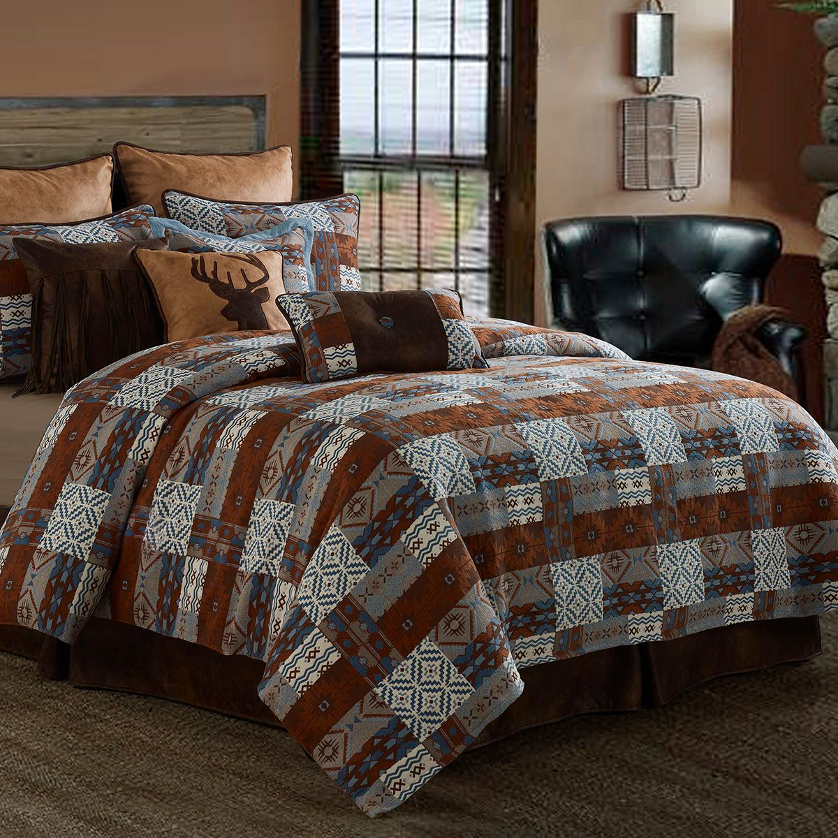 Old Dominion Patchwork Duvet - King